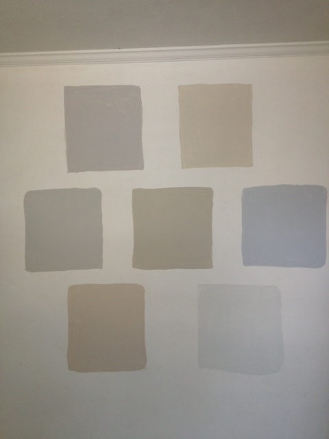 benjamin moore gray the great search life on hill st. Black Bedroom Furniture Sets. Home Design Ideas